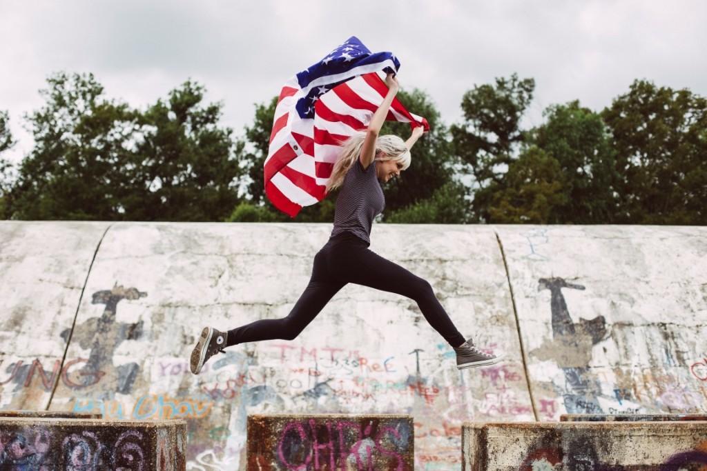 jumpingwithUSflag